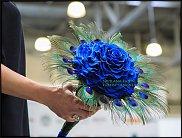 www.floristic.ru - Флористика. Показ Светланы Луниной со стабилизированными цветами в Москве, 10.09.2013
