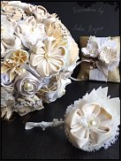 www.floristic.ru - Флористика. Свадебные букеты из декоративных материалов.