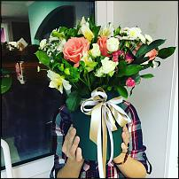 www.floristic.ru - Флористика. Цветы в коробках.