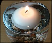 www.floristic.ru - Флористика. Композиции со свечами