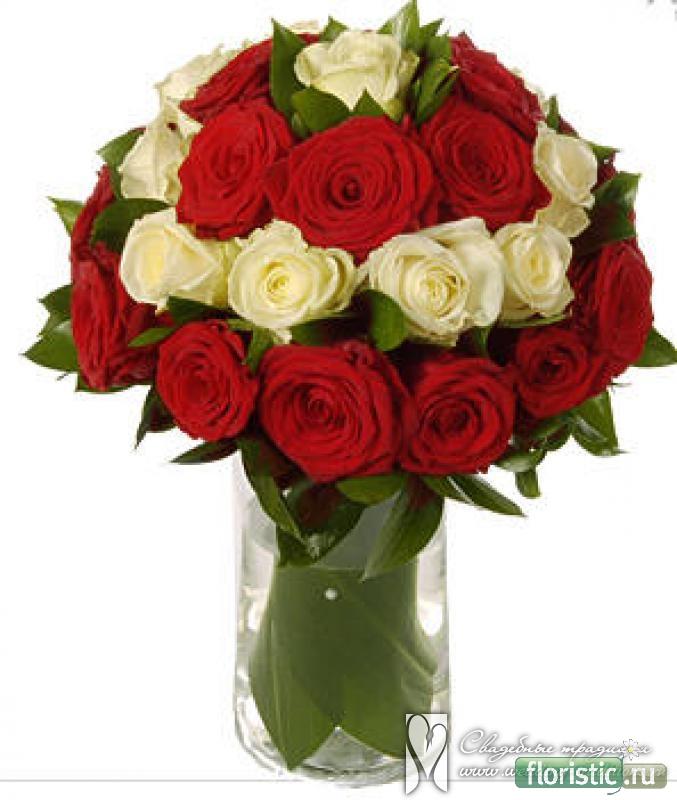 Букет из кустовых роз своими руками
