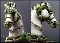 www.floristic.ru - Флористика. Садовая скульптура из растительного материала