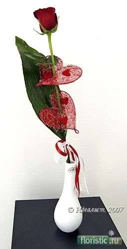 Как красиво оформить одну розу в подарок 28