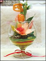 www.floristic.ru - Флористика. Композиции из сухоцветов.