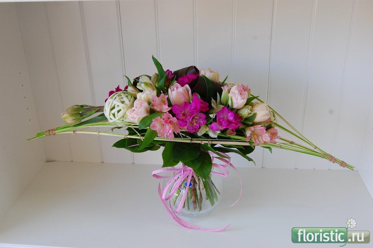 Фото цветов на каркасе