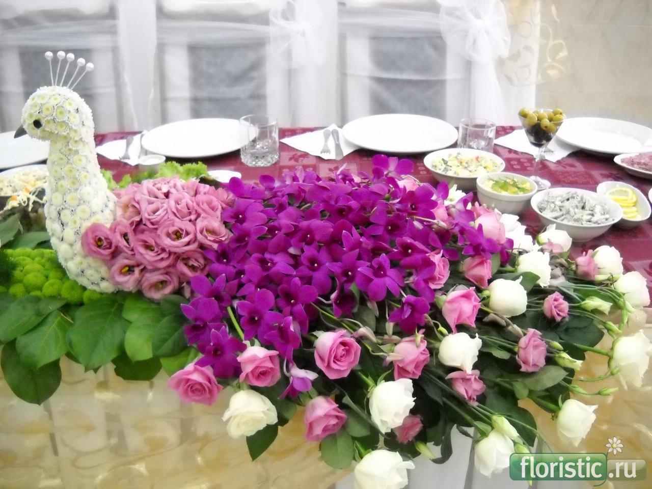 Цветочная композиция своими руками из живых цветов