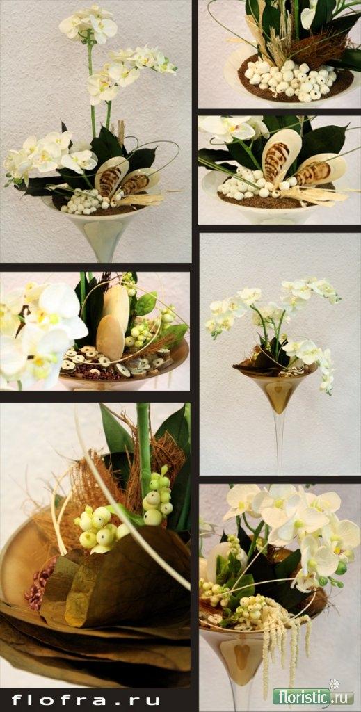 Флористика в вазах