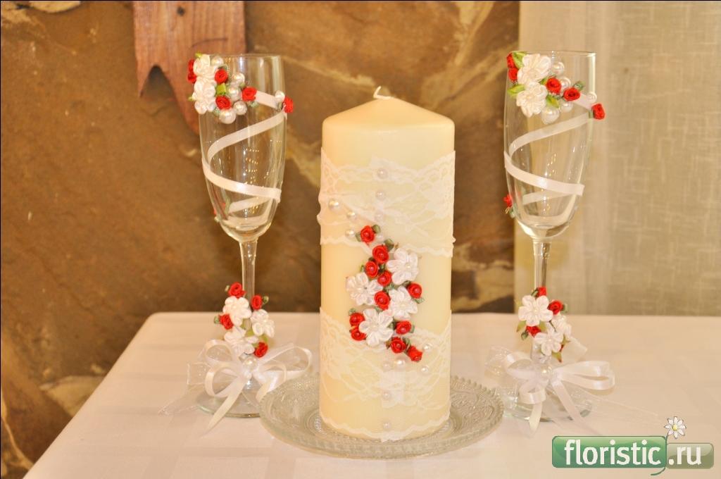 Как украсить самим фужеры на свадьбу