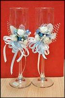 www.floristic.ru - Флористика. Украшение бокалов и бутылок