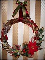 www.floristic.ru - Флористика. Рождественский венок