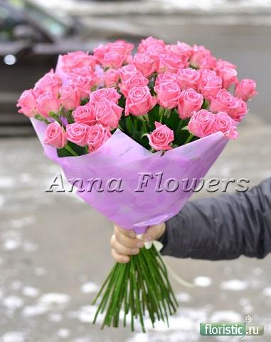 Как упаковать красиво тюльпаны своими руками