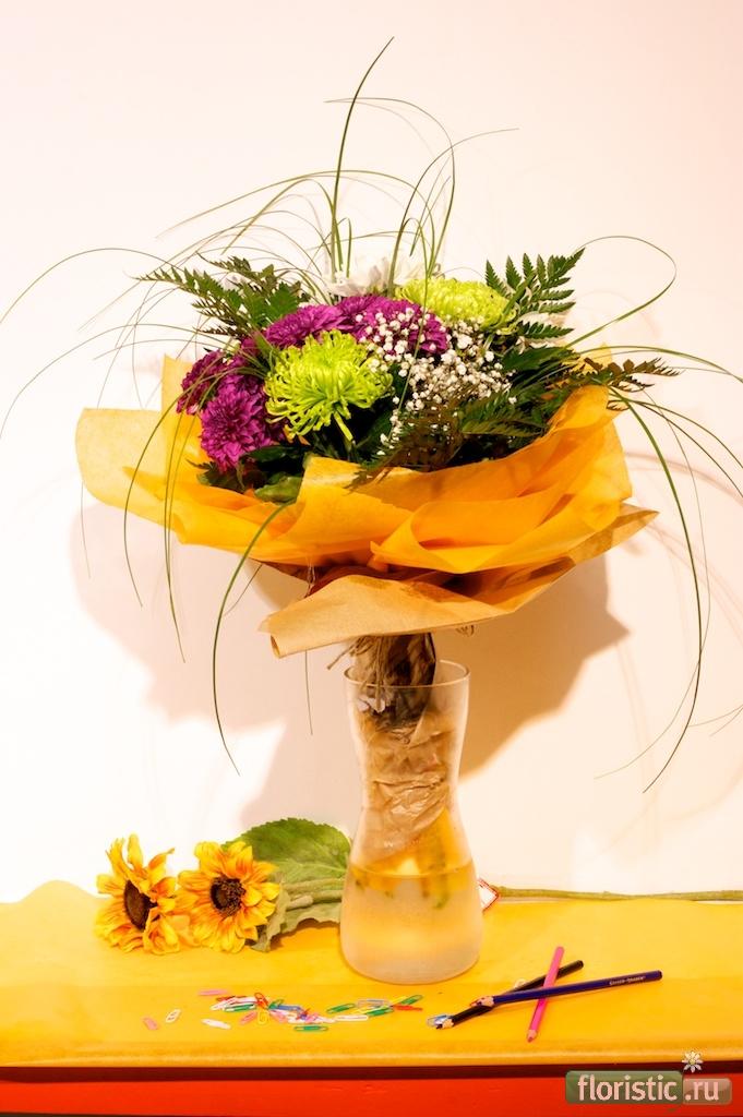 Цветы на 1 сентября спб