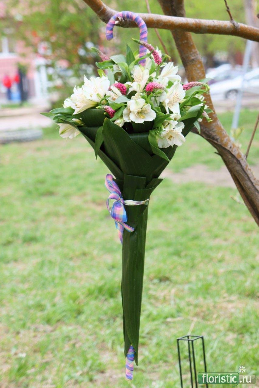 Зонтик для цветов своими руками мастер класс
