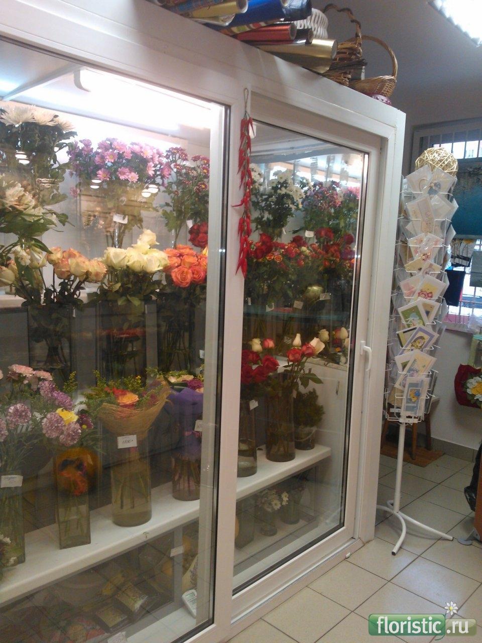 Холодильник под цветы своими руками