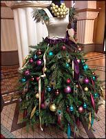 www.floristic.ru - Флористика. Девушка-елка