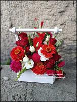 www.floristic.ru - Флористика. Деревянные кашпо во флористике.