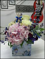 www.floristic.ru - Флористика. Кашпо, ящички и корзинки из дерева и фанеры