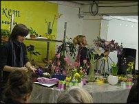 www.floristic.ru - Флористика. Показ Сергея Васина и Эльвиры Сайфулиной в Бизнес-Букете