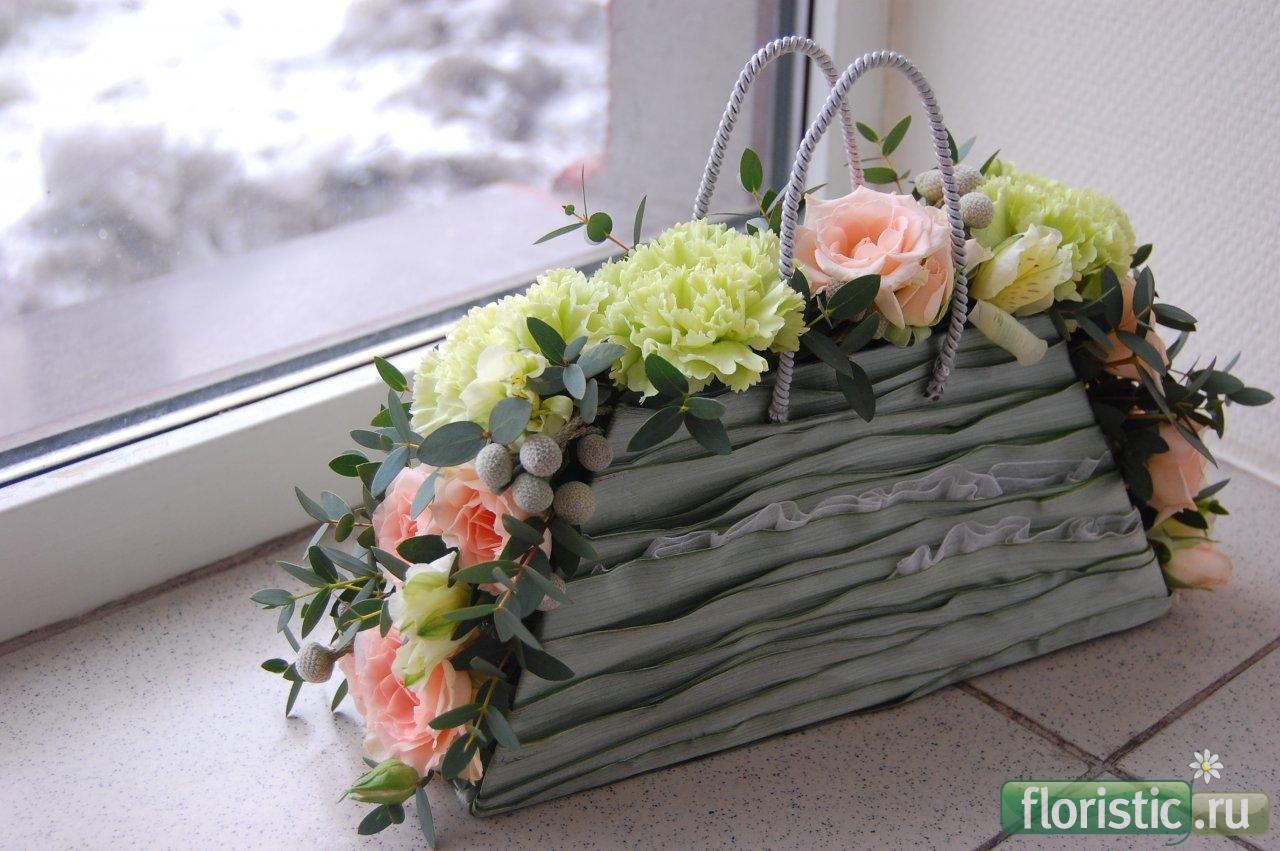 Губка флористическая OASIS - «Весна - пора цветов, ароматов 74